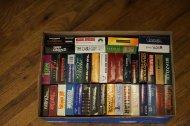 kasety VHS w pudełku